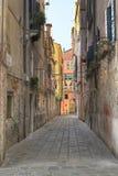 Callejón de Venecia Fotografía de archivo