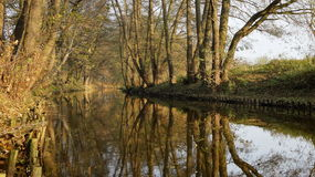 Callejón del río Fotografía de archivo libre de regalías