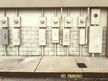 Callejón eléctrico Fotografía de archivo