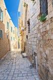 Callejón en Jaffa, Tel Aviv Foto de archivo libre de regalías