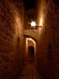 Callejón en Jerusalén #2 Imágenes de archivo libres de regalías