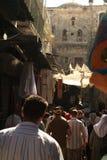 Callejón en Jerusalén, Israel Imagen de archivo