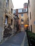 Callejón en Oxford Reino Unido Imagenes de archivo