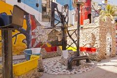 Callejón Hamel, La Habana, Cuba Imagen de archivo
