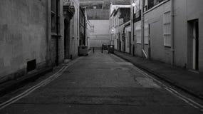 Callejón oscuro Fotos de archivo
