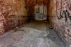 Callejón oscuro Foto de archivo