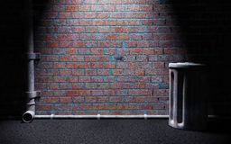Callejón oscuro Fotografía de archivo libre de regalías