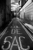 Callejón sin salida Foto de archivo libre de regalías