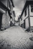 Callejón viejo en Ankara Imagen de archivo libre de regalías