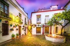 Calleja de Las Flores, Córdoba Fotos de archivo