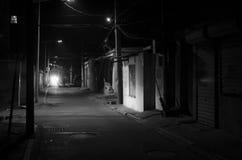 Callejón, callejones Foto de archivo libre de regalías