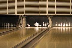 Callejón de bowling Foto de archivo libre de regalías