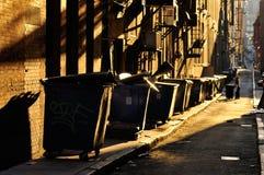Callejón de la ciudad Fotos de archivo libres de regalías