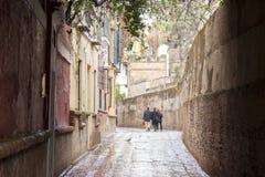 Callejon de Aguas Street, Santa Cruz Neighborhood; Seville Stock Photo