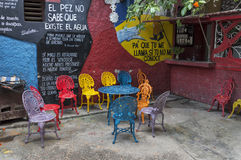 Callejon de Hamel, Αβάνα, Κούβα στοκ εικόνα με δικαίωμα ελεύθερης χρήσης