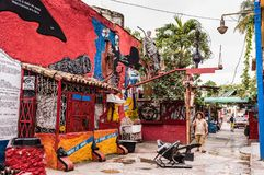 Callejon de Hamel/Hamel Alley images libres de droits