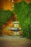 Callejon del Agua of Sevilla at night Royalty Free Stock Image