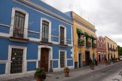 Callejon famoso de los sapos em Puebla fotos de stock
