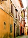 Callejones viejos de la ciudad Fotos de archivo