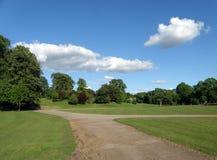 Callendar House field, Falkirk Stock Image