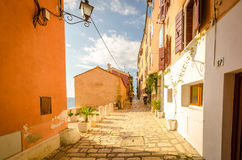 Calles acogedoras Imagen de archivo libre de regalías