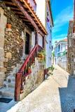 Calles antiguas de Portugal Foto de archivo libre de regalías