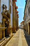 Calles antiguas de Portugal Fotografía de archivo libre de regalías