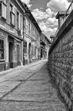 Calle en Novi Sad Imagenes de archivo