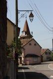 Calles de Allaman Foto de archivo libre de regalías
