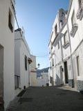 Calles de Almuñecar españa Imagenes de archivo