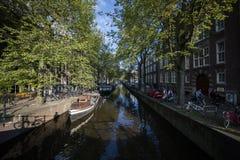 Calles de Amsterdam fotografía de archivo