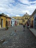 Calles de Antigua Fotografía de archivo libre de regalías