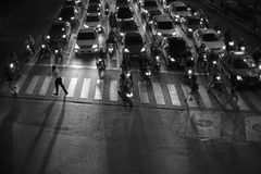 Calles de Bangkok Fotografía de archivo