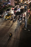 Calles de Bangkok Imagen de archivo libre de regalías