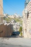 Calles de Belén Foto de archivo libre de regalías