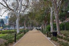 Calles de Beverly Hills, California imagen de archivo