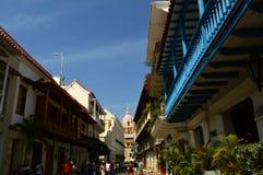 Calles de Cartagena, Colombia Fotos de archivo