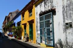 Calles de Cartagena, Colombia Fotografía de archivo libre de regalías