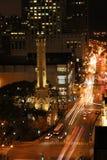 Calles de Chicago imagen de archivo
