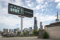 Calles de Chicago Fotografía de archivo libre de regalías