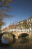 Calles de Delft Foto de archivo libre de regalías