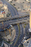 Calles de Dubai Imágenes de archivo libres de regalías