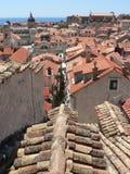 Calles de Dubrovnik Fotografía de archivo libre de regalías