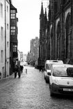 Calles de Edimburgo Fotos de archivo