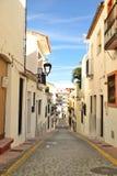 Calles de Estepona fotografía de archivo