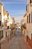 Calles de Estepona imagenes de archivo