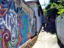 Calles de Florianopolis Foto de archivo libre de regalías