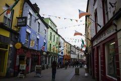 Calles de Galway Imagen de archivo libre de regalías