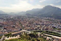 Calles de Grenoble Fotos de archivo libres de regalías