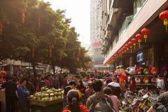 Calles de Guangzhou, China Fotos de archivo